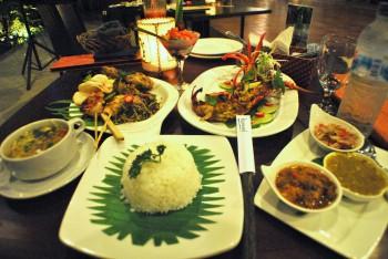 クマンギレストラン ディナー (2)