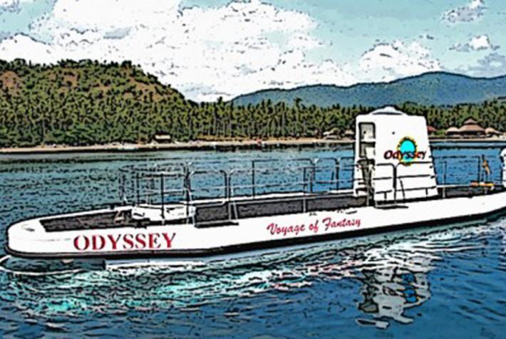 オデッセイ・サブマリン バリ島の海底探検