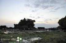 タナロット寺院が全貌をさらけだした_______!