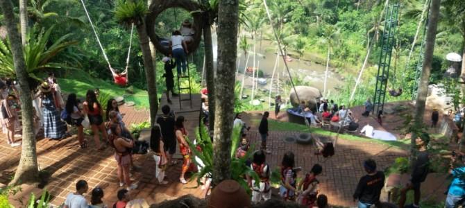 new【ウブド】超絶景アユンリバーサイドでランチ Bali Swing(ランチ/ディナー付き)(バリニーズマッサージ1時間付き)