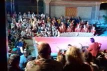 プリサレン王宮のバリ舞踊を楽しみました!