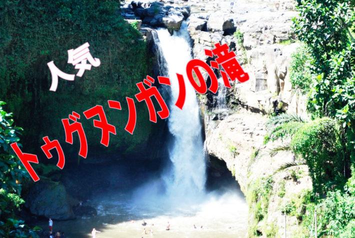 [トゥグヌンガンの滝] ウブド周辺 /ランチ~マッサージ付き